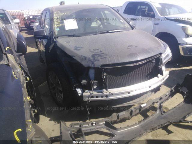 2014 Acura Mdx 3.5. Lot 111026218049 Vin 5FRYD3H42EB009807