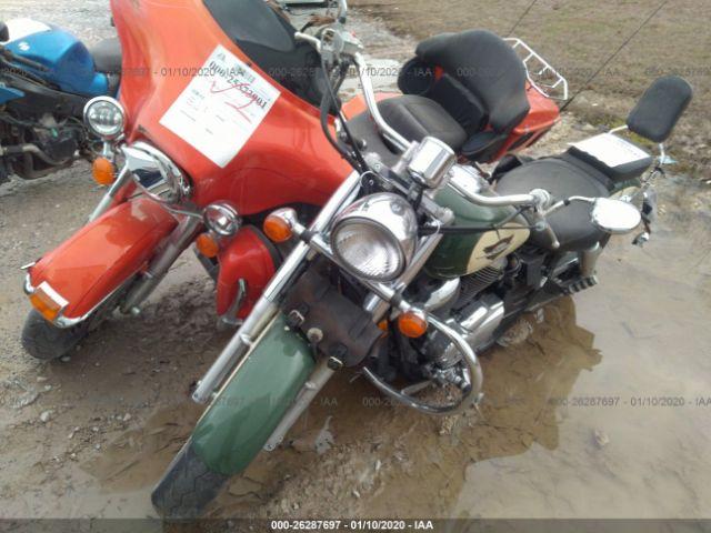 1999 Honda Vt750 Cd2