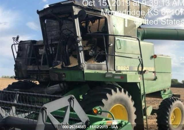 click here to view 1985 JOHN DEERE 8820 COMBINE ONLY at IBIDSAFELY