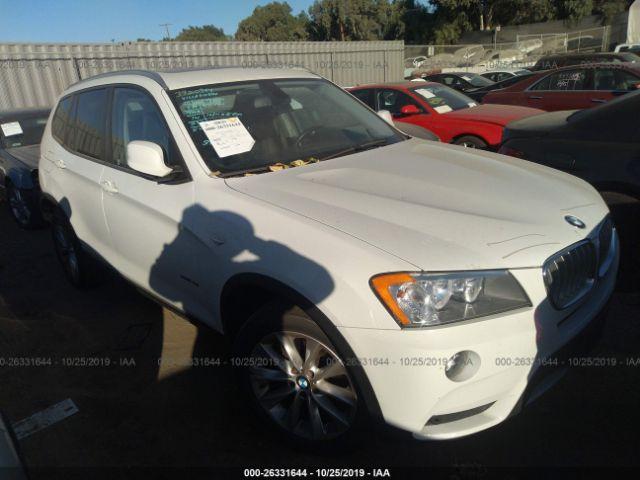2013 BMW X3 2.0. Lot 111026331644 Vin 5UXWX9C58D0A17945