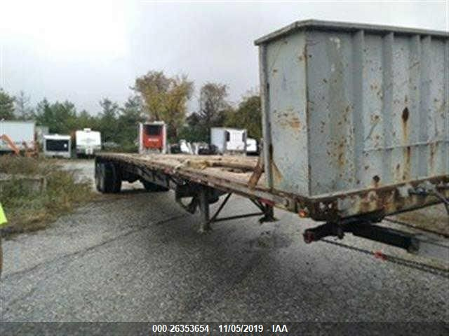 click here to view 1997 TRANSCRAFT CORP FLATBED TRAILER at IBIDSAFELY