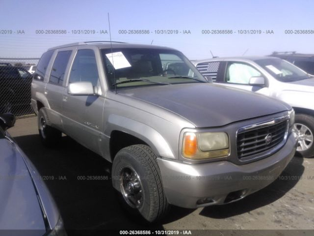 2000 CADILLAC ESCALADE - Small image. Stock# 26368586