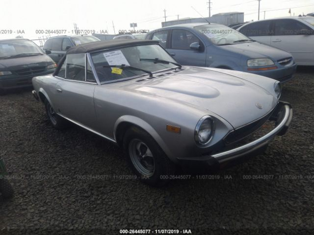 click here to view 1979 FIAT SPIDER at IBIDSAFELY