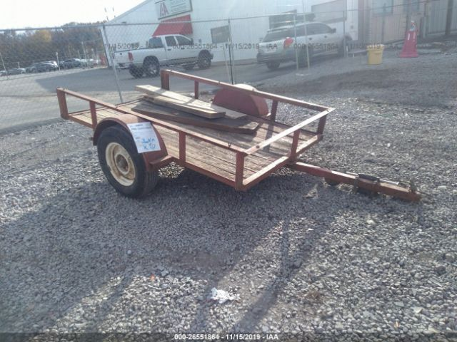 1900 Homemade Trailer For Sale in