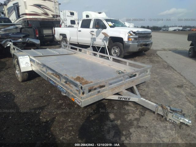 ALL ALUMINUM UTILITY TRAILER.