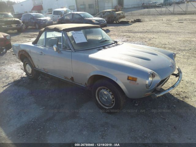 1977 FIAT SPIDER - Small image. Stock# 26785940