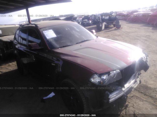 2010 BMW X3 3.0. Lot 111027074343 Vin WBXPC9C46AWJ37549