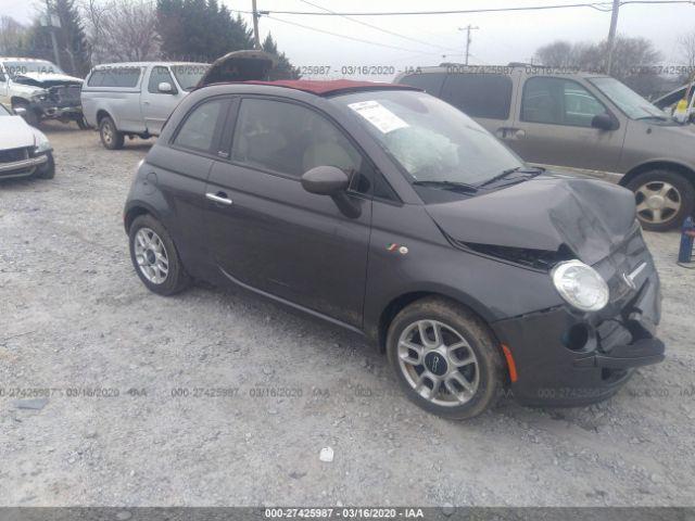 2014 FIAT 500C - Small image. Stock# 27425987