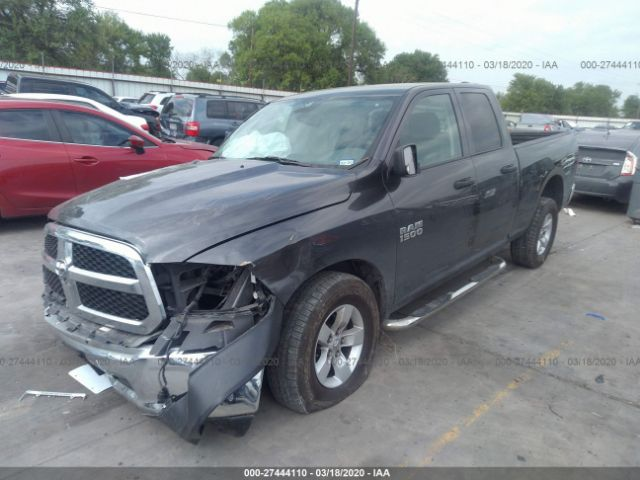 Salvage Car Ram 1500 2018 Gray For