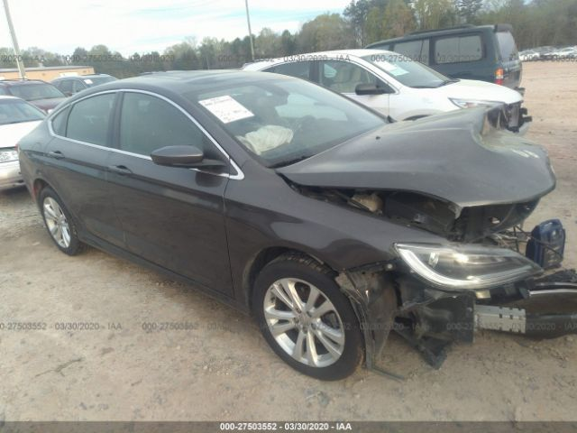 2015 Chrysler 200 2.4. Lot 111027503552 Vin 1C3CCCAB0FN722235