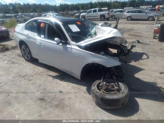 2016 BMW 3 series 2.0. Lot 111027648246 Vin WBA8E9G56GNT88579