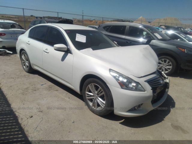 2011 Infiniti G25 sedan 2.5. Lot 111027660969 Vin JN1DV6AP5BM601310