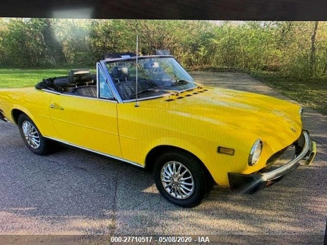 1975 FIAT 124 SPIDER - Small image. Stock# 27710517