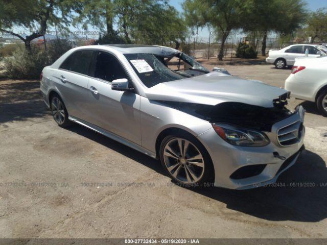 2016 Mercedes-benz E 3.5. Lot 111027732434 Vin WDDHF5KB4GB259642