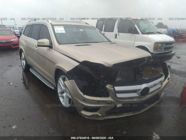 2013 Mercedes-benz GL 4.6. Lot 111027824816 Vin 4JGDF7DE5DA130026
