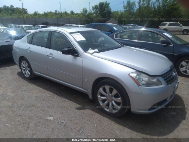 salvage car infiniti m35 2007 silver for sale in st paul mn online auction jnkay01f87m459374 ridesafely