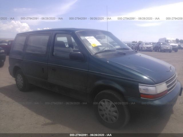 1994 PLYMOUTH VOYAGER - Small image. Stock# 27942091