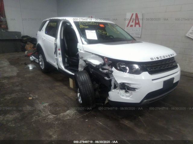 2017 Land rover Discovery sport 2.0. Lot 111027949719 Vin SALCP2BG4HH637090