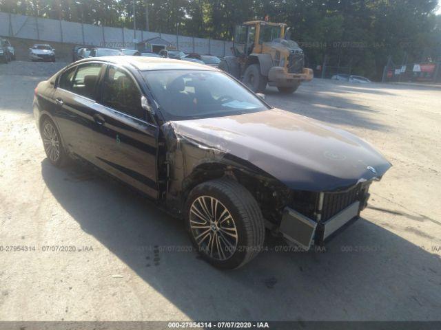 2019 BMW 5 series 2.0. Lot 111027954314 Vin WBAJB1C5XKB375961