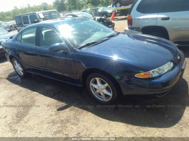 salvage title 2001 oldsmobile alero 3 4l for sale in lorain oh 27969998 sca sca auctions