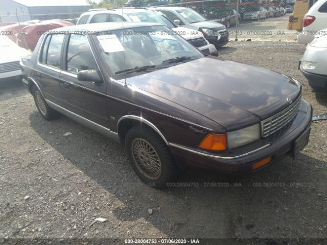 1990 PLYMOUTH ACCLAIM - Small image. Stock# 28004753