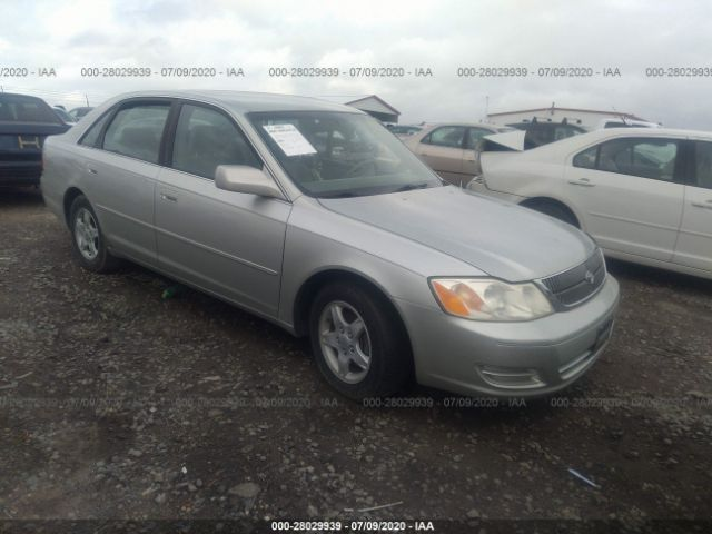 salvage car toyota avalon 2000 silver for sale in clayton nc online auction 4t1bf28b5yu069324 ridesafely