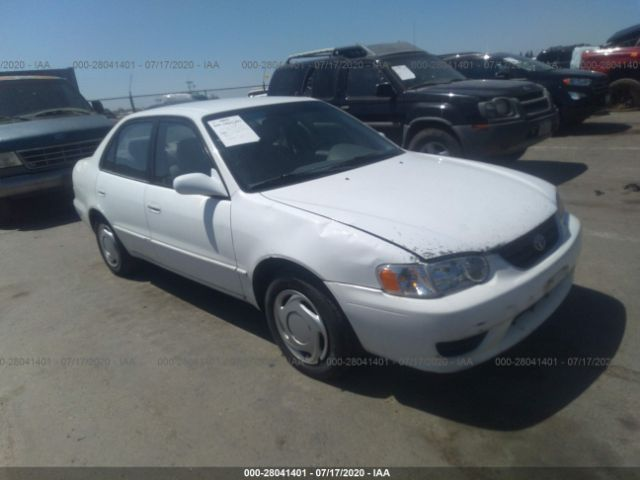 salvage car toyota corolla 2002 white for sale in rancho cordova ca online auction 1nxbr12ex2z635439 ridesafely