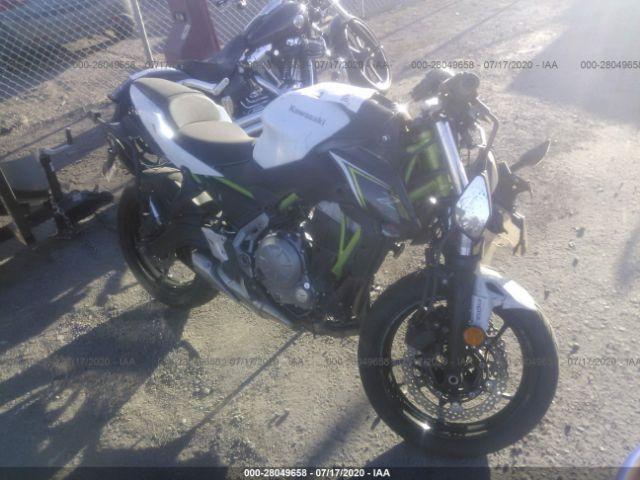 2017 Kawasaki Er650 . Lot 111028049658 Vin JKAEREH13HDA03546