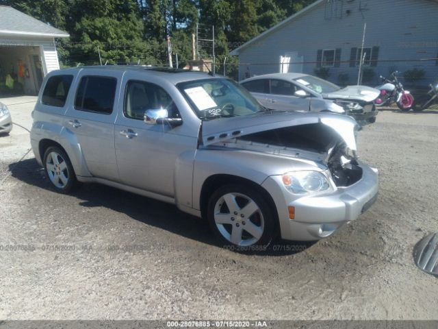 Salvage Car Chevrolet Hhr 2006 Silver For Sale In New Philadelphia Oh Online Auction 3gnda23p06s584265