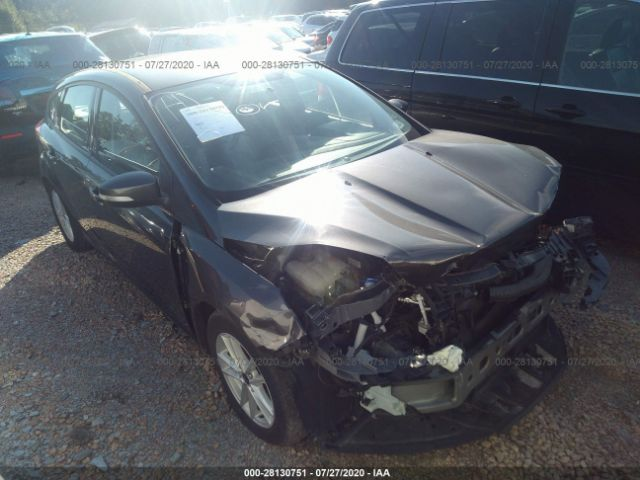 Salvage 2017 FORD FOCUS - Small image. Stock# 28130751