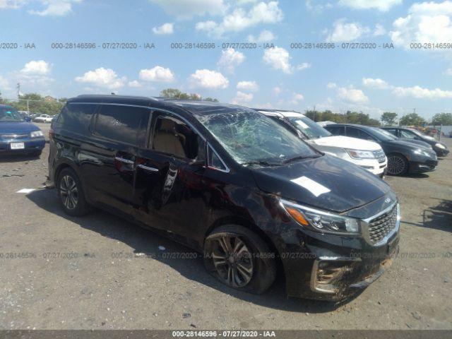 salvage car kia sedona 2019 black for sale in culpeper va online auction kndmc5c18k6498040 ridesafely