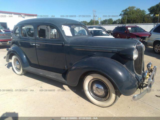 Elite Auto Auctions: 1938 PLYMOUTH 4 DOOR SEDAN