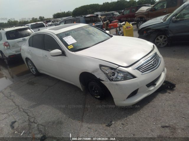 2011 Infiniti G37 sedan 3.7. Lot 111028170599 Vin JN1CV6AP6BM305188