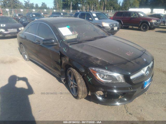 2014 Mercedes-benz Cla-class 2.0. Lot 111028194332 Vin WDDSJ4GBXEN131392