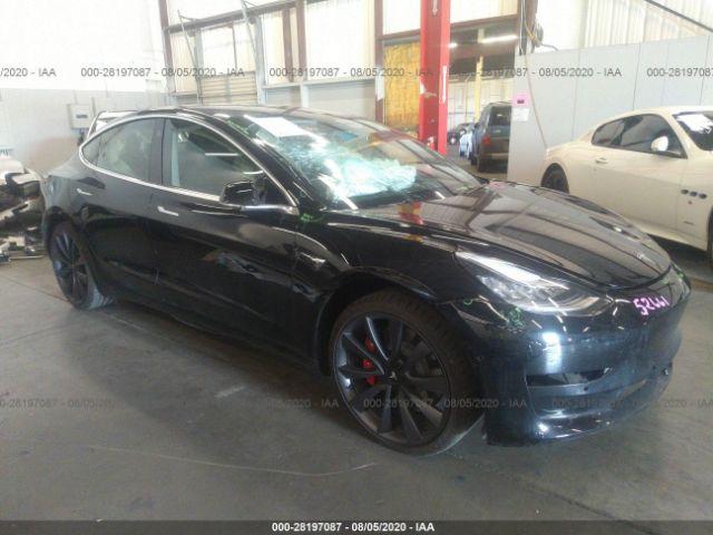 Global Auto Auctions: 2020 TESLA MODEL 3