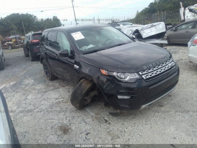 2016 Land rover Discovery sport 2.0. Lot 111028202607 Vin SALCR2BG0GH580556