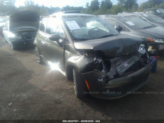 2012 Fiat 500 1.4. Lot 111028227931 Vin 3C3CFFBR7CT214070