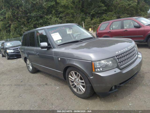 2010 Land rover RANGE ROVER 5.0. Lot 111028214578 Vin SALME1D42AA309964