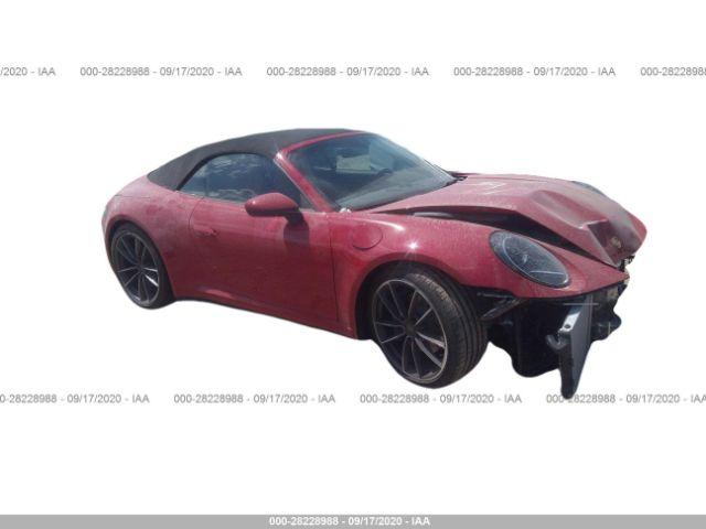 2020 Porsche 911 3.0. Lot 111028228988 Vin WP0CA2A93LS251686