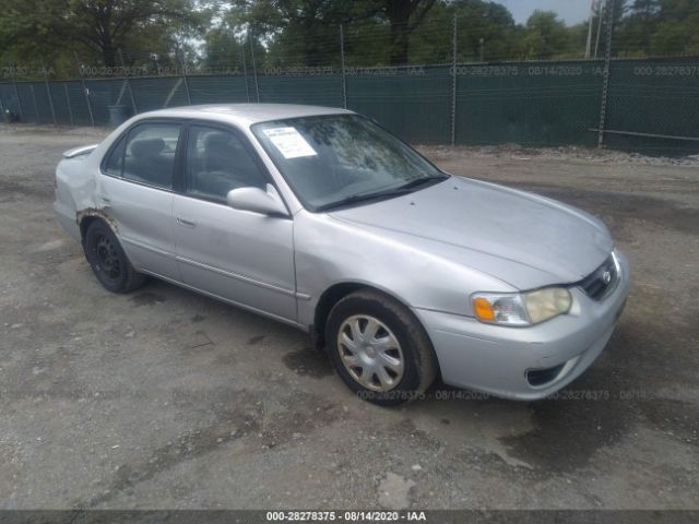 used car toyota corolla 2002 gray for sale in laurel md online auction 2t1br12e52c580772 ridesafely