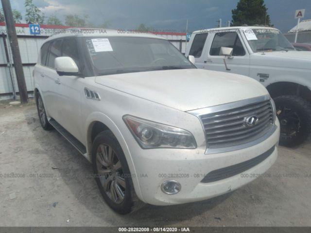 used car infiniti qx56 2011 white for sale in lafayette la online auction jn8az2nf8b9502468 ridesafely