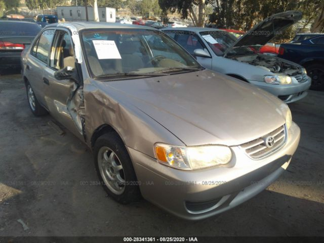 used car toyota corolla 2002 beige for sale in fontana ca online auction 1nxbr12e22z652218 ridesafely