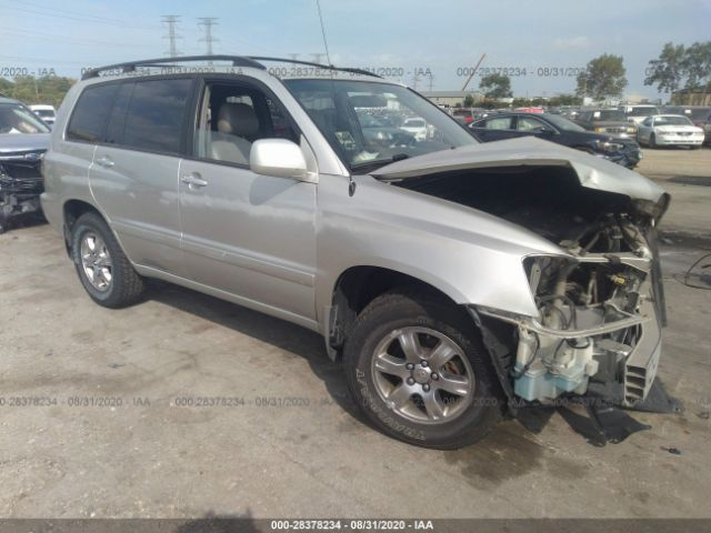 Photo of 2004 TOYOTA HIGHLANDER , JTEGP21A240036951