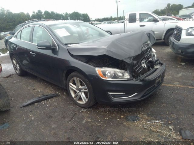 2014 Volvo S60 2.5. Lot 111028392752 Vin YV1612FS9E1288768