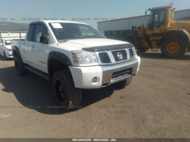 salvage car nissan titan 2006 white for sale in spokane valley wa online auction 1n6aa06b86n519994 ridesafely
