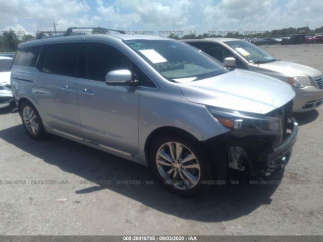 salvage car kia sedona 2018 silver for sale in hudson fl online auction kndme5c13j6364917 ridesafely