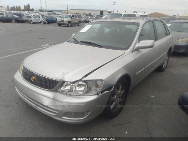 used car toyota avalon 2000 silver for sale in fremont ca online auction 4t1bf28b6yu076198 ridesafely