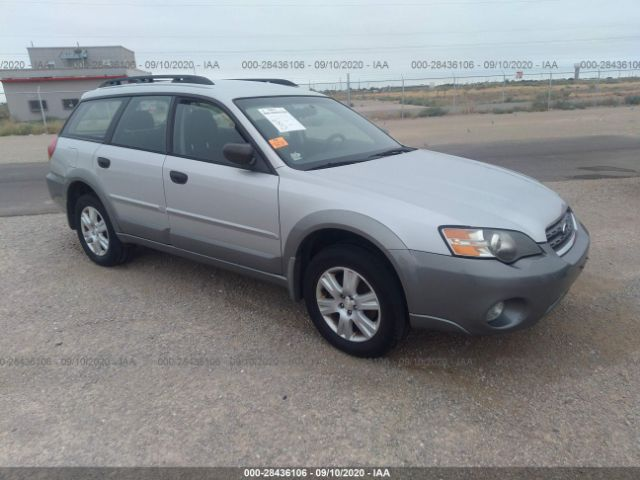 salvage car subaru outback 2005 silver for sale in el paso tx online auction 4s4bp61c056338403 ridesafely