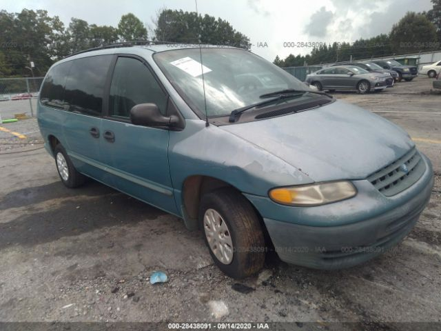 used car plymouth grand voyager 1998 blue for sale in lake city ga online auction 2p4gp2430wr776892 ridesafely