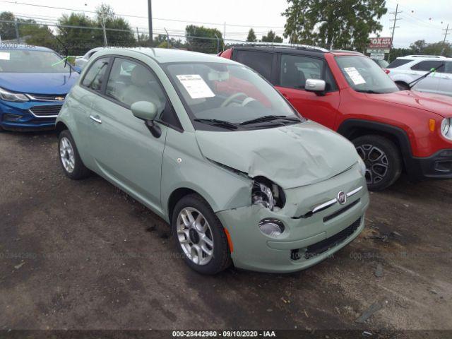 2012 Fiat 500 1.4. Lot 111028442960 Vin 3C3CFFAR3CT199178